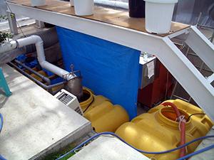 廃熱利用いちご実験プラント