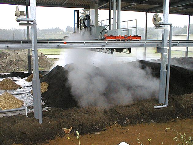 堆肥システム